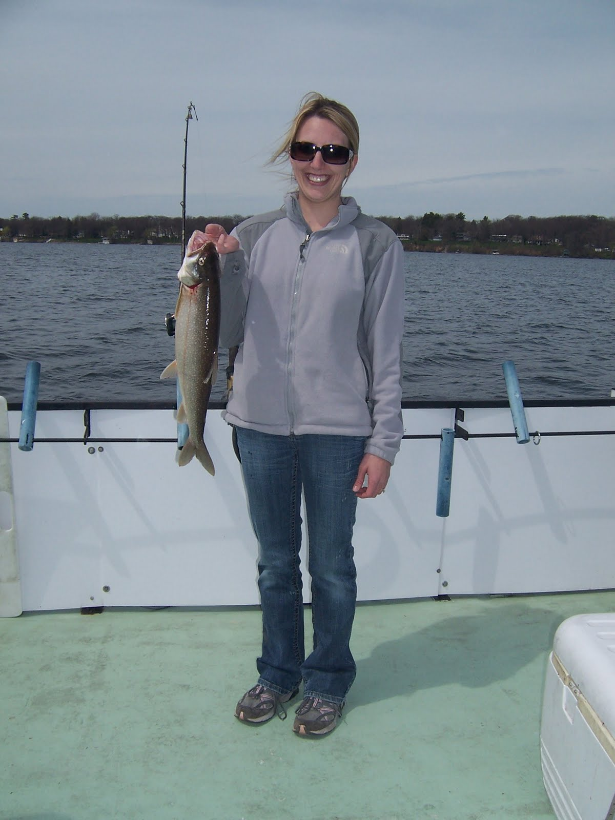Norton 39 s lake report and catch of the day may 2011 for Big fish princeton