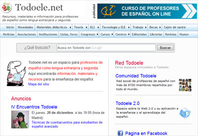empleo para profesores de espanol: