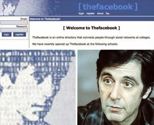 """10 حقائق صادمة رهيبة لا تعرفها عن شبكة التواصل الإجتماعي فيسبوك تعرف عليها لآن 6 . الصورة الشخصية في فيسبوك تمثل """" كان آل باتشينو """" !"""