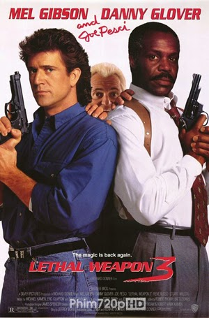 Lethal Weapon 3 1992 poster