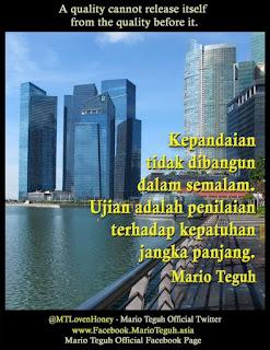 Kata Kata Motivasi Mario Teguh 21 April 2012