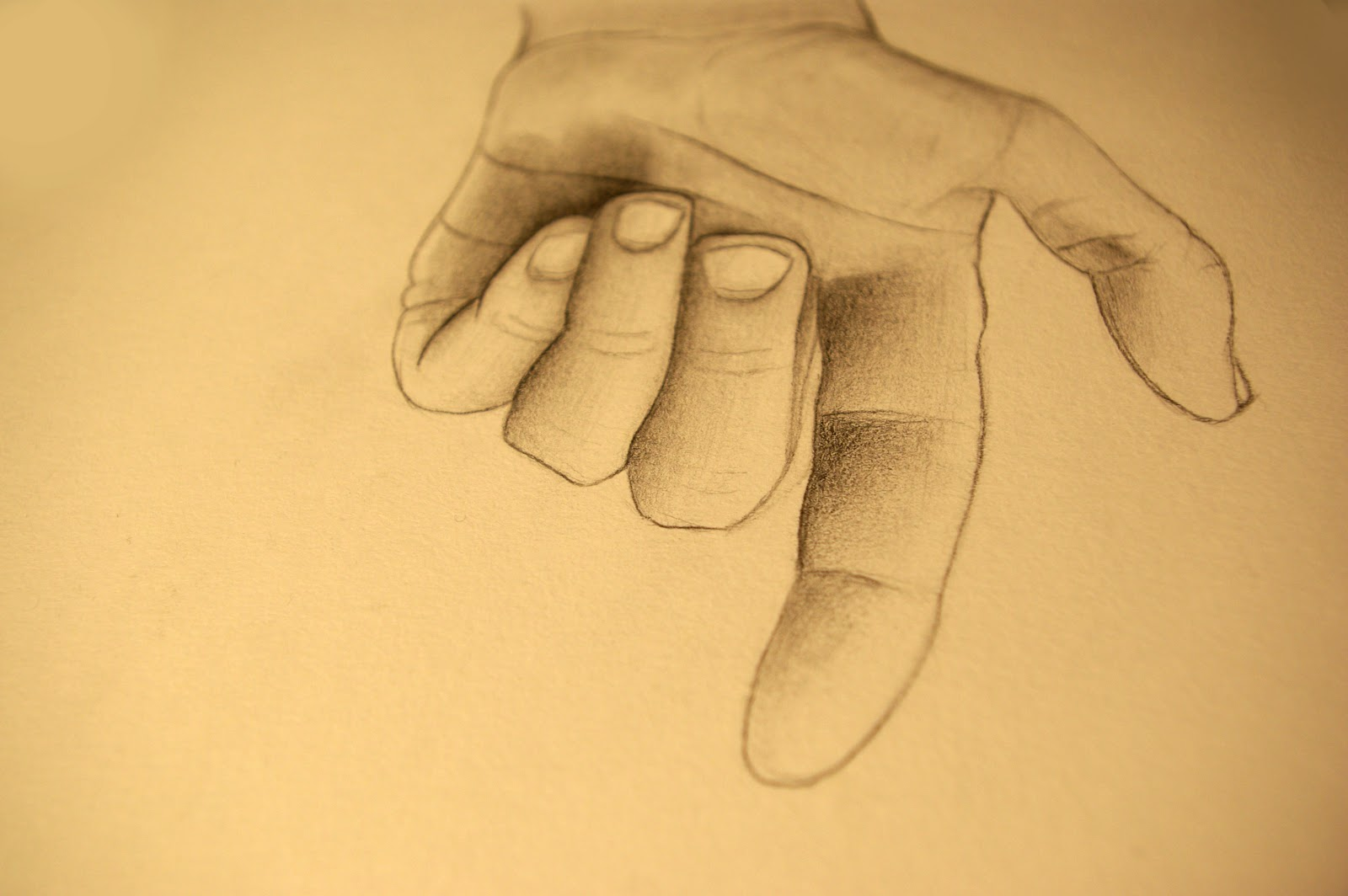 Bagdassarian graphics dessin d 39 une main crayon graphite - Main dessin crayon ...
