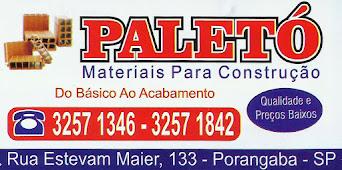 PALETÓ Materiais Para Construção DO BÁSICO AO ACABAMENTO