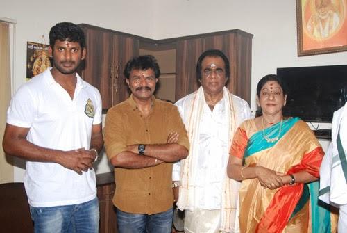 Poojai Tamil Movie Launch Photos