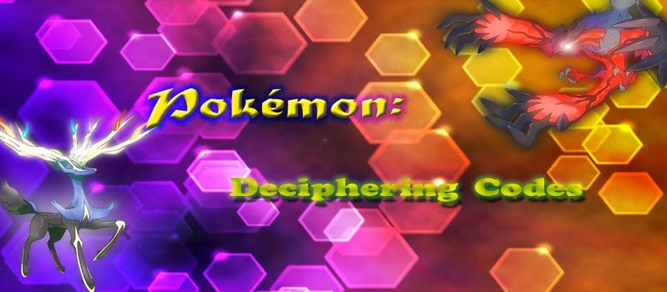 Pokémon: Deciphering Codes