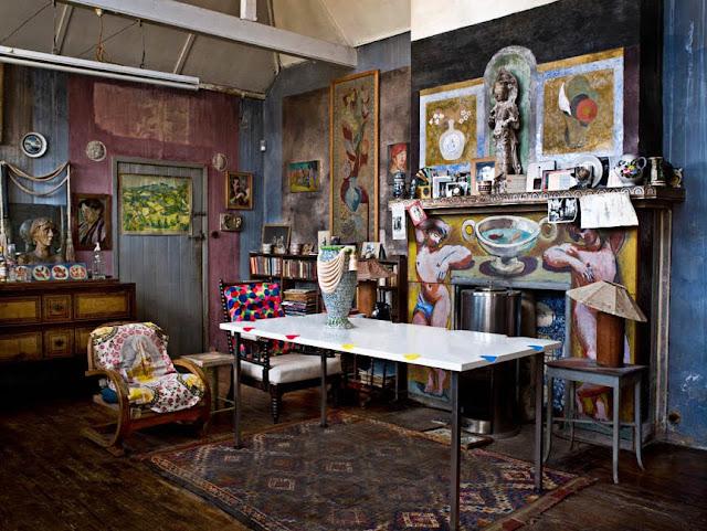 Charleston Farmhouse - Gesamtkunstwerk der Bohème in Englands Südküste: Besuchen, inspirieren und Design selbermachen
