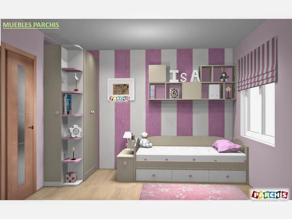 Muebles juveniles dormitorios infantiles y habitaciones for Diferentes tipos de muebles