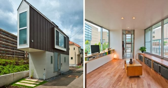 foto inspirasi desain rumah mungil unik minimalis di