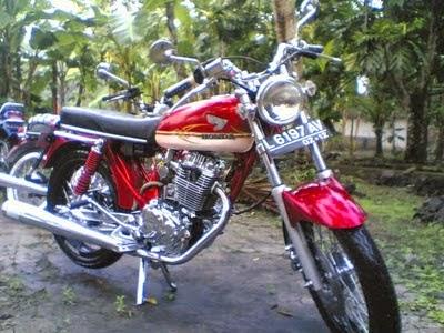Modifikasi Motor CB 100 125 175 200 Terbaru