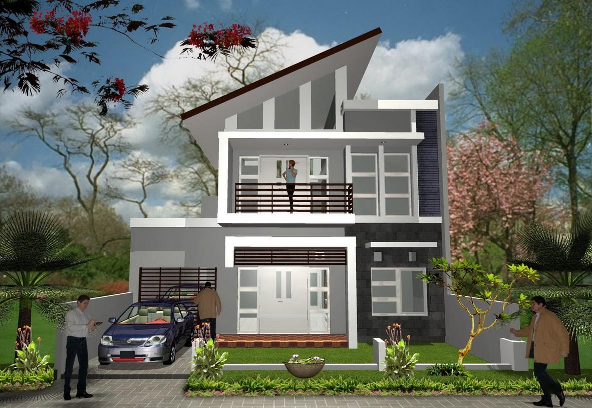 Rumah Minimalis Type 45 Tingkat