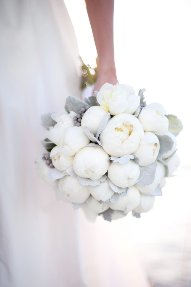 Sources White Bouquet Perfect Peonies Black And White Ribbon Bouquet