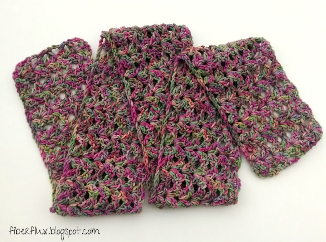 Free Knitting Patterns For Variegated Yarn : Fiber Flux: Free Crochet Pattern...Tulip Tree Scarf!