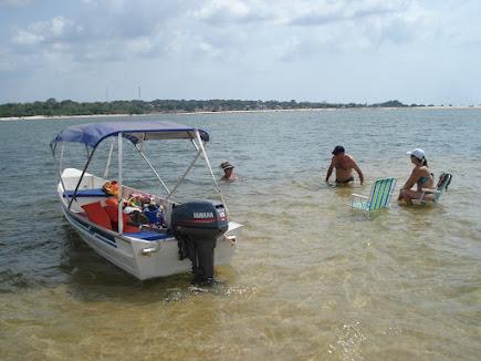 Alter de Chão - Praia de água doce !