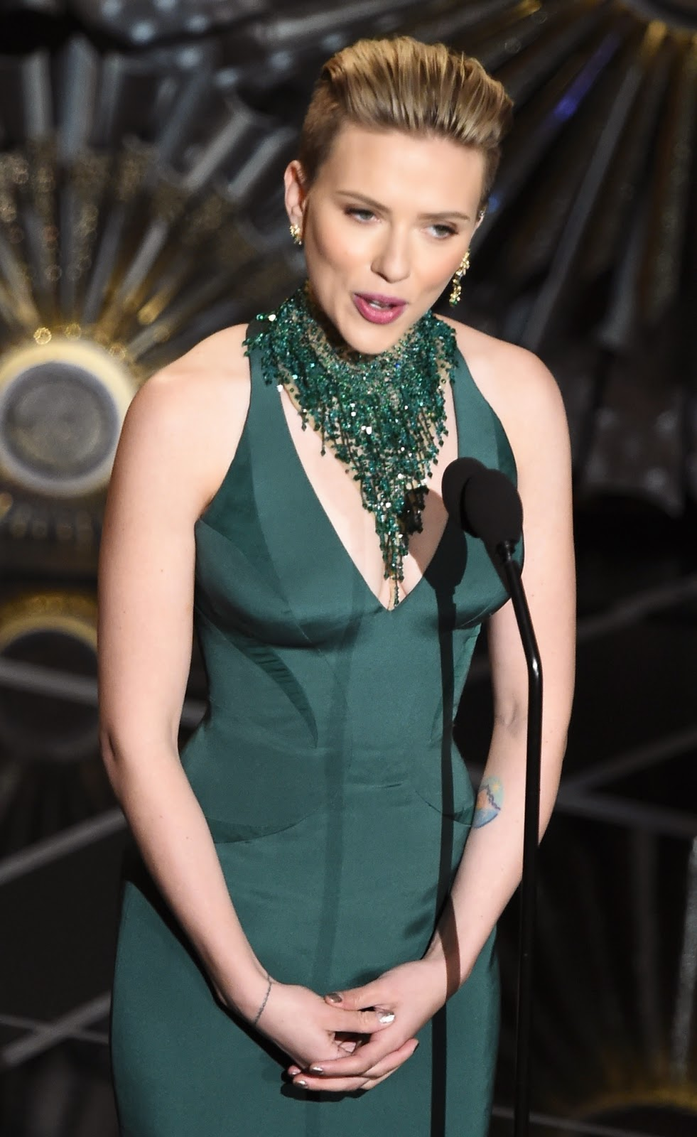 2015 Oscar Awards Sexy Women