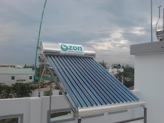 Sửa máy nước nóng năng lượng mặt trời ozon