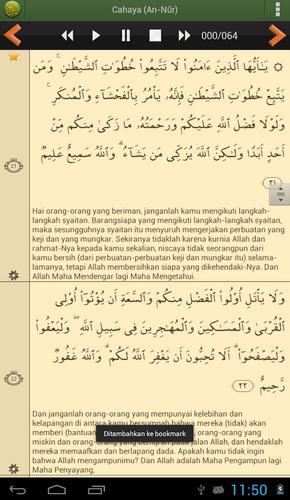 Aplikasi Quran Android Terbaik - Al'Quran Bahasa Indonesia