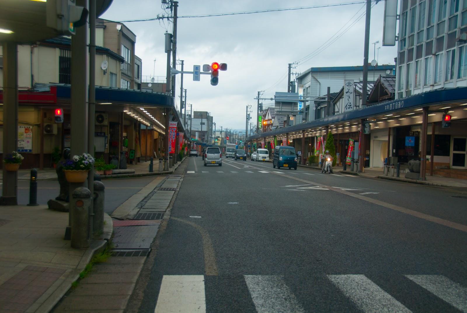 新潟県 十日町 市街地