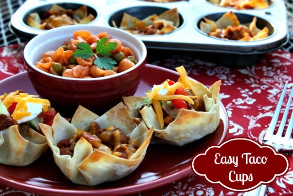 Hi everyone today I am going to be announcing the winner of the Bush's Beans Gift Basket. I will post the winning comment at the end of this post. First I wanted to share with you a pretty quick and easy recipe for Kid Friendly Taco Burritos. I call them kid friendly because they have everything you.