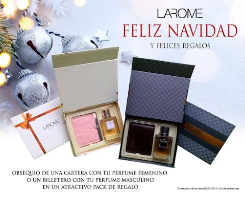 Campanha de Natal Perfumes Larome 2016