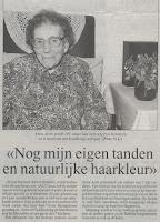 Anna Aerts, gevierd als 101-jarige