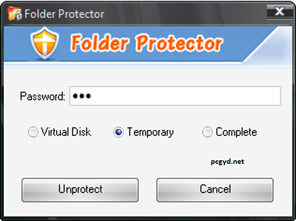 folder lock software free  for windows 7
