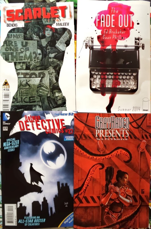 January comic books / cómics de enero