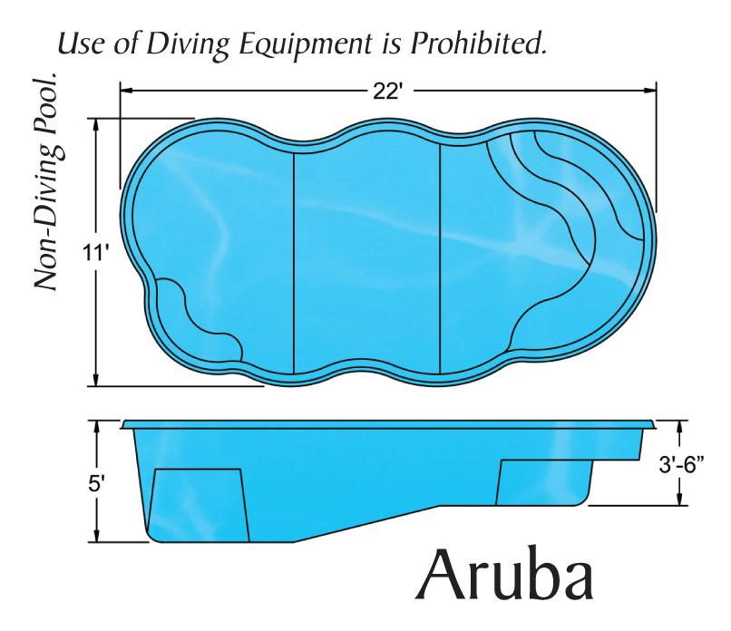 Viking Fiberglass Pool Sizes