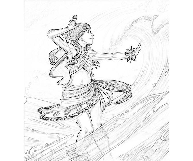 avatar-katara-ability-coloring-pages