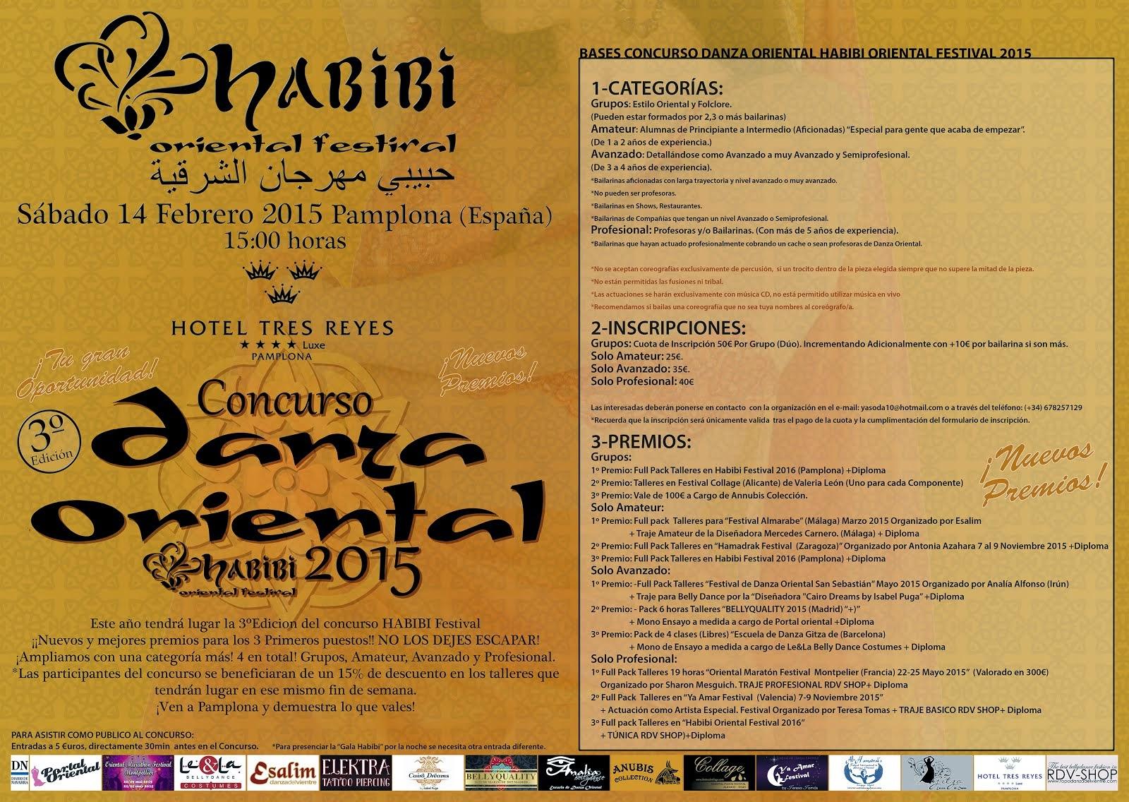 CONCURSO HABIBI FESTIVAL 2015