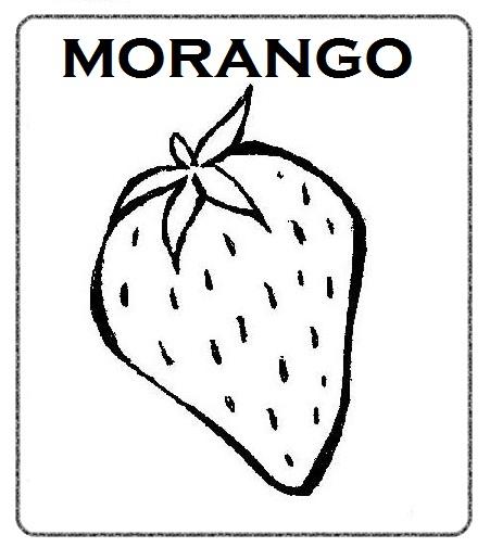 Desenho Morangos Colorir Desenhos Pictures Picture