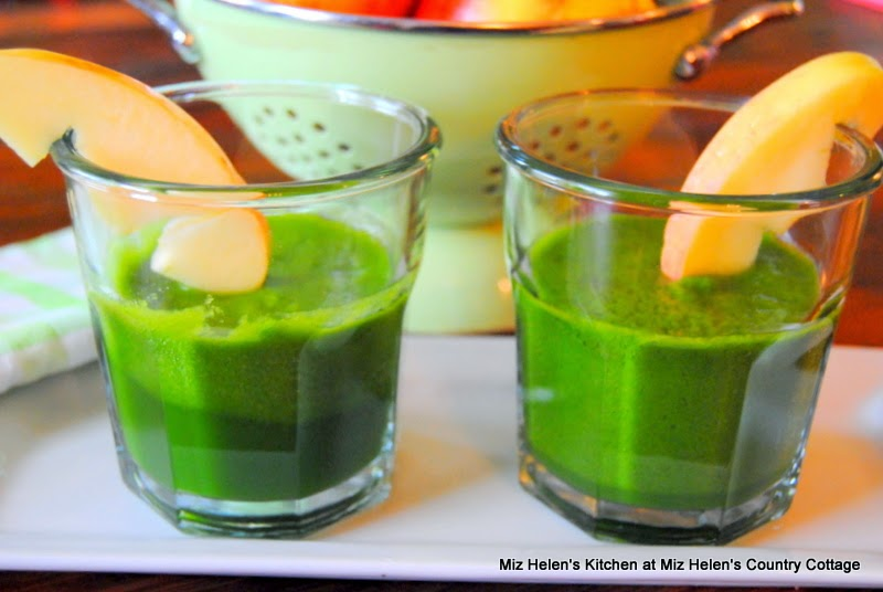 Pickled Tabasco Juice with Spinach and Apple at Miz Helen's Country Cottage