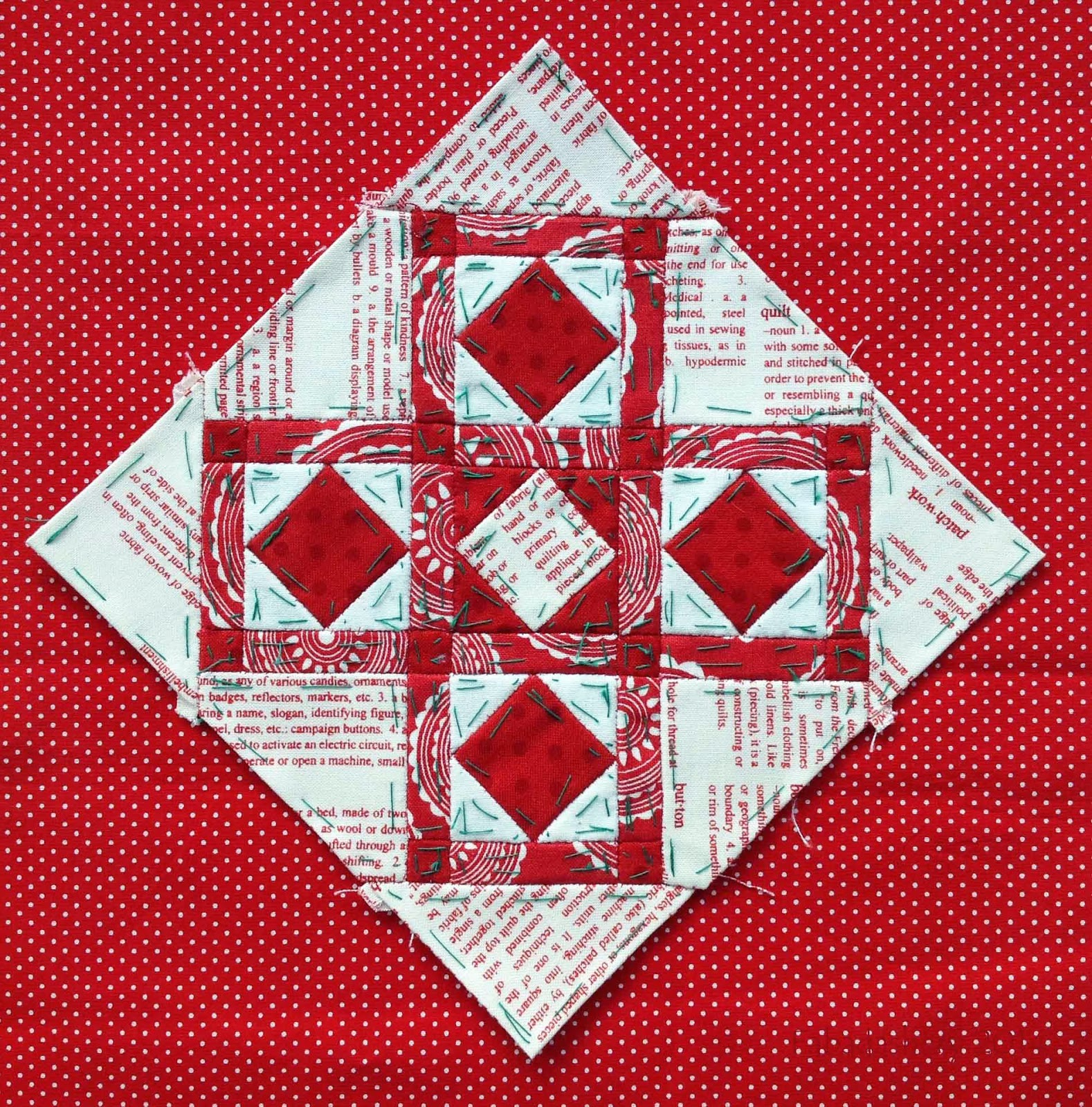 Nearly Insane Quilt - Block 23