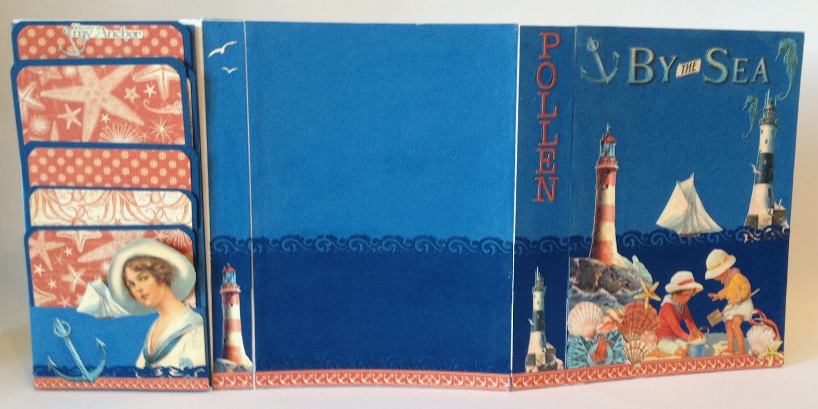 How to make scrapbook album cover - In The Next Part I Will Show How To Decorate The Cover And Inside With Some Fussy Cut Outs