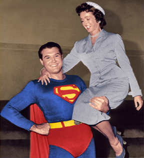Superman and Lois Lane 1950s
