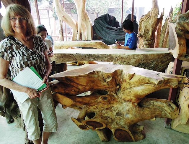 Marla Gentry, Wesco Fabrics, Thailand