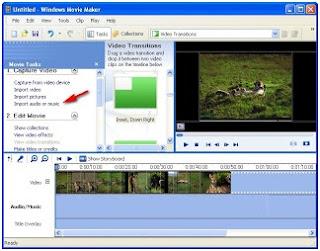 Memasukkan file audio lagu/ menambah lagu ke video clip