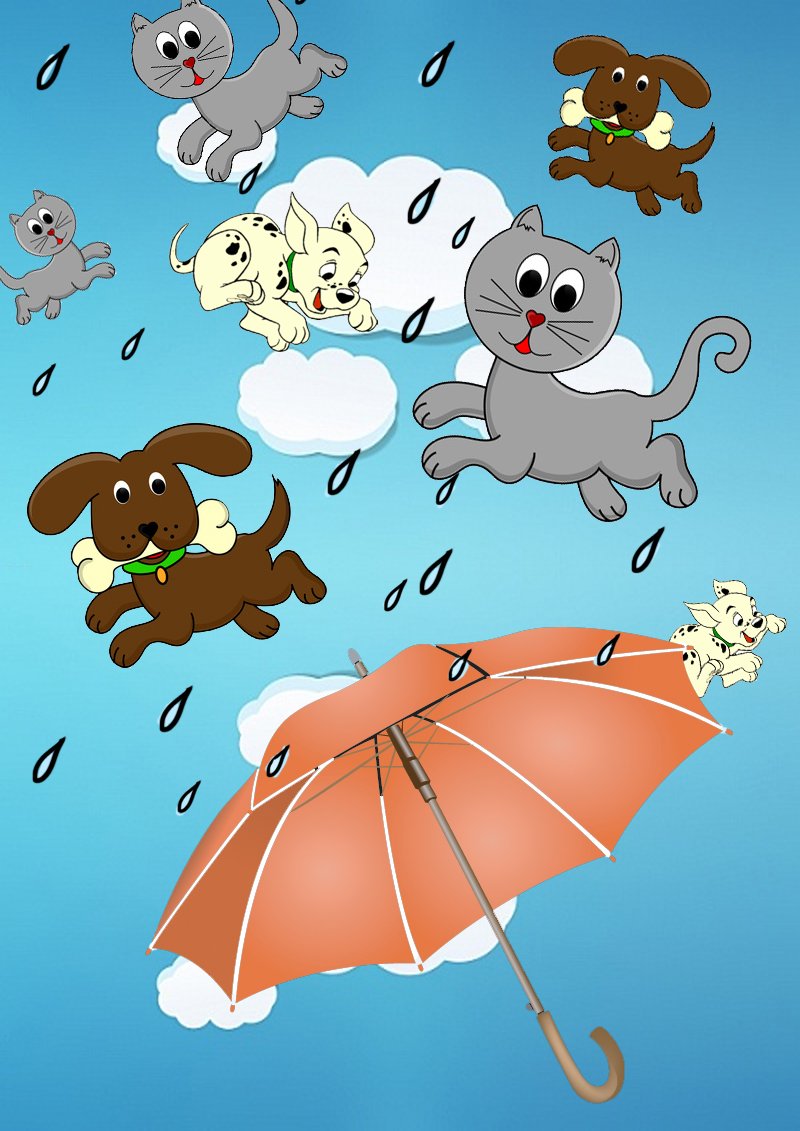 rain cats and dogs What is the origin of the phrase it's raining cats and dogs everyday mysteries: fun science facts from the library of congress.