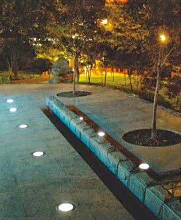 Faro a incasso faretto giardino esterno led for Faretti esterni