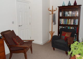The counselling room in Stroud, Gloucestershire
