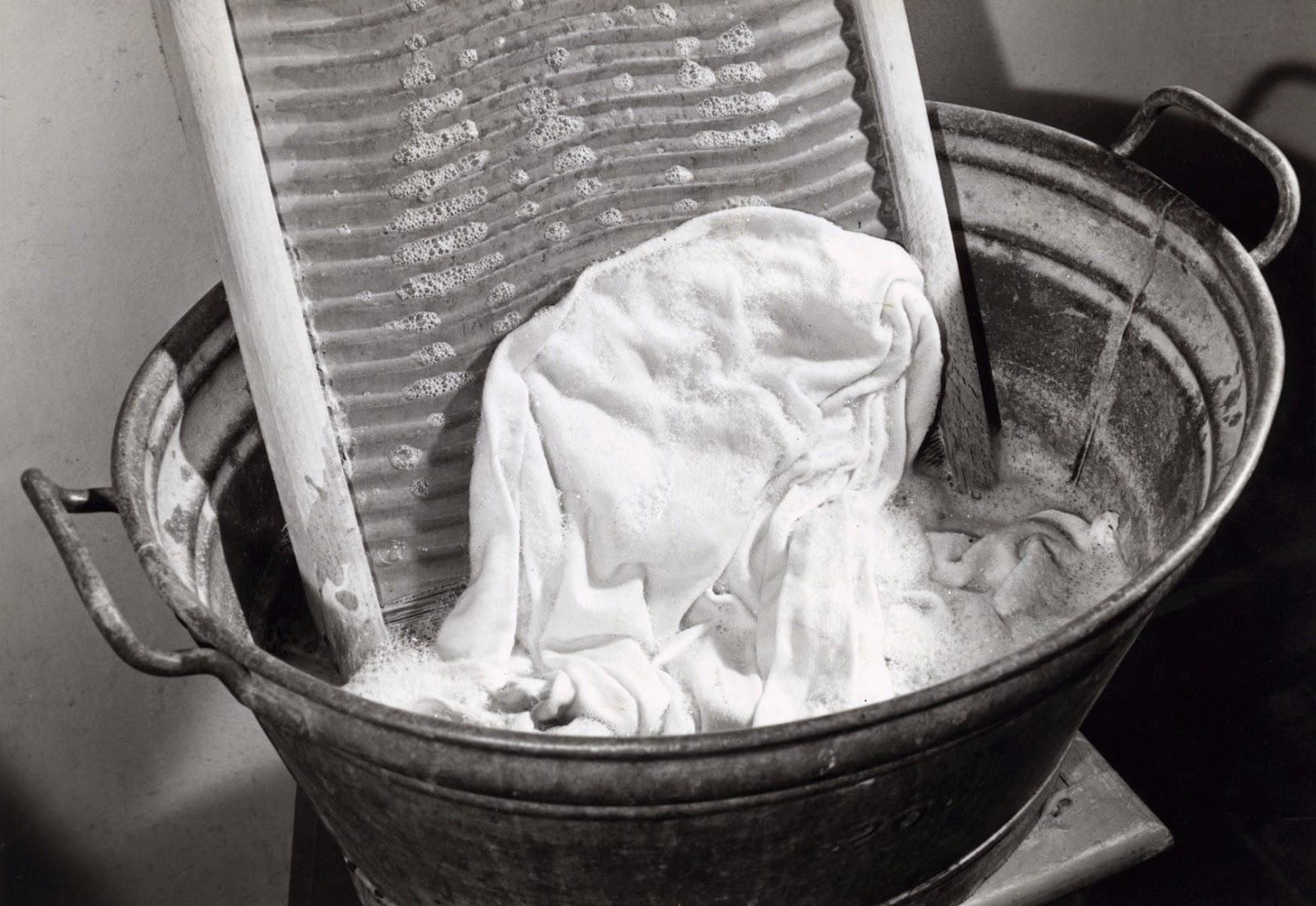 Zuinigaan  Wassen vroeger