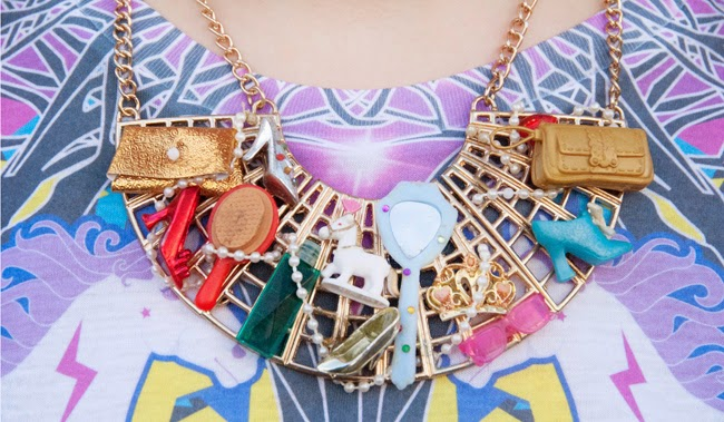 Anne-Sophie Cochevelou, Barbie necklace, barbie jewellery