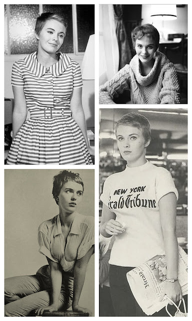 jean seberg collage