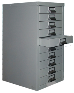 Multi drawer file cabinet to keep important documents organized and