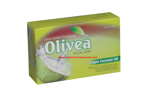 Sabun Wajah Herbal Olivea Virgin Coconut Oil