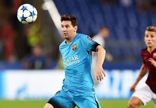 Lionel Messi Capai 100 Partai Liga Champions