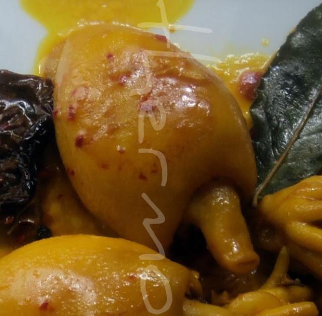 Sepia en asado con salsa