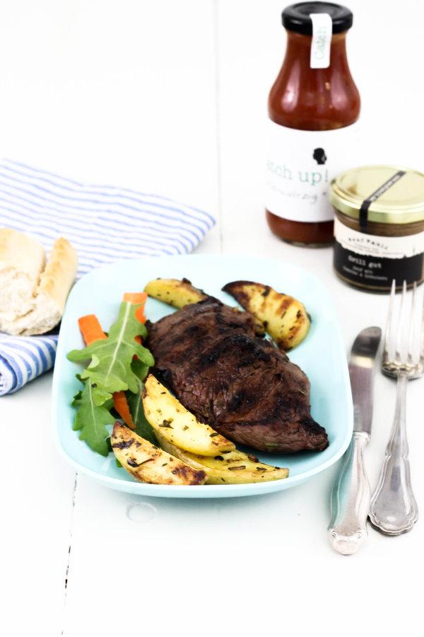 Grillen: Steak mit selbstgemachter Marinade