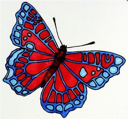 Трафареты шаблоны бабочки
