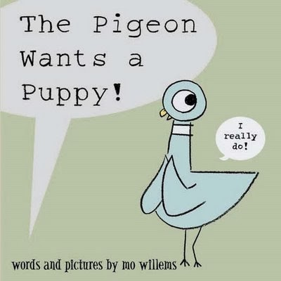 Cover of The Pigeon Wants a Puppy by Mo Willems