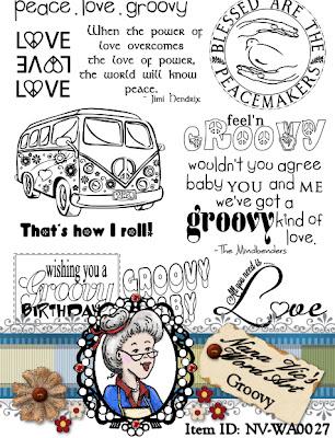 Groovy word art